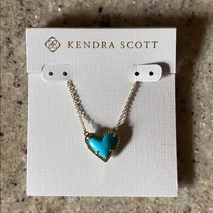 Kendra Scott Heart Necklace